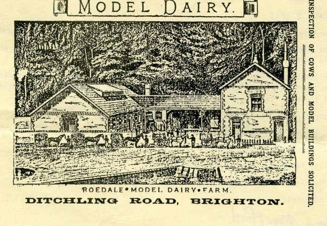 Roedale Model dairy late 19th century