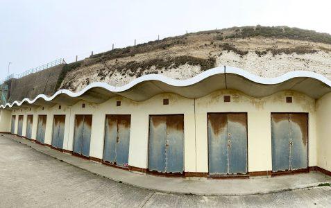 Beach huts in Rottingdean: Lockdown day 13
