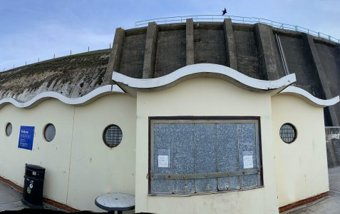 Rottingdean Cliff Walk: Lockdown measures extended - day 25