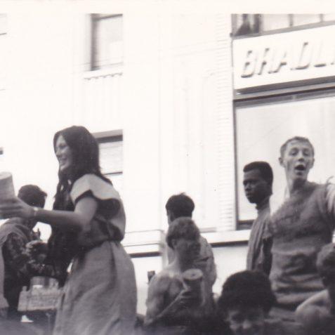 Western Road Brighton 1960s - photo of Rag Day | Deryn Bell