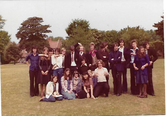 Some of Upper 6th June 1976