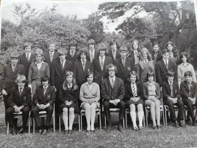 Final year of De La Salle, class 3X summer 1971