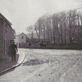 Bottom of Church Hill/Spring Street,  Patcham circa 1901 | The Lady's Realm