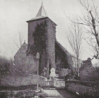 Patcham church circa 1901 | The Lady's Realm