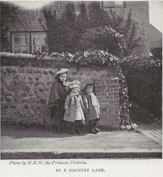 Possibly Church Hill, Patcham circa 1901 | The Lady's Realm