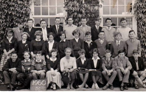 Who's  in the Patcham photo 1960