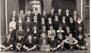 Patcham School 1958 | Private collection of Ben Breeds