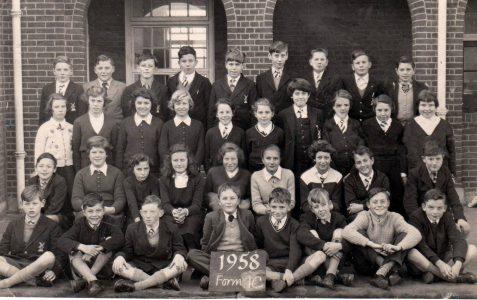 Patcham Seniors - Class photograph 1958