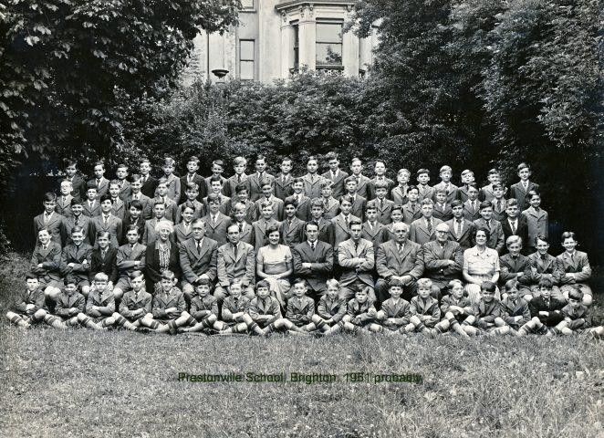 Prestonville School probably 1951