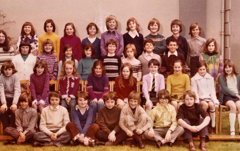School Class Photo 1973