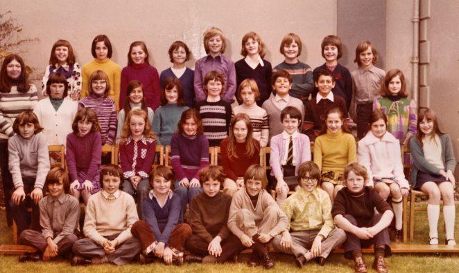 School Class Photo 1973 - Mrs Maria Brunsdon teacher