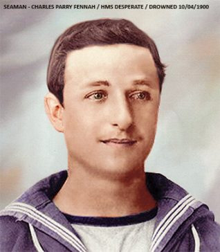 Seaman -Charles Parry Fennah (Drowned at Brighton West Pier -10th April 1900)