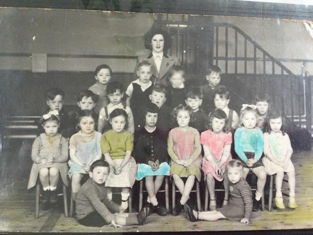 Central School class c1950 | Pamela Coffin neé Probert