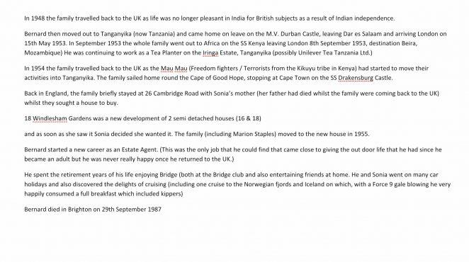 Re: James Colbourne - past mayor
