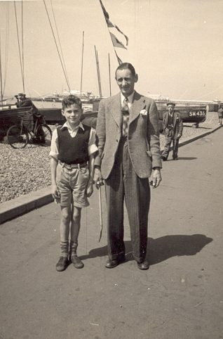 Dad and me, c1954 | ©Roy Smith