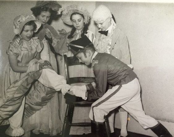 Photo in Evening Argus of a Central School play, probably Cinderella. | From the private collection of Pamela Coffin