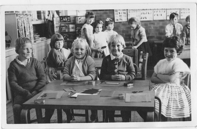 Happy days at Elm Grove school in the 1960s | From the private collection of Lorraine Slaughter