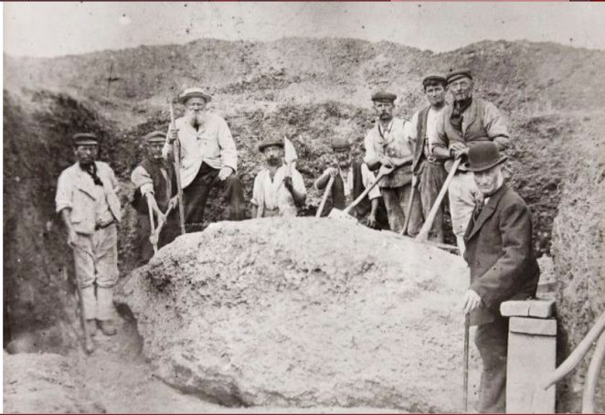 The lost stone of Hove recovered | Reproduced courtesy of Royal Pavilion, Libraries & Museums, Brighton & Hove