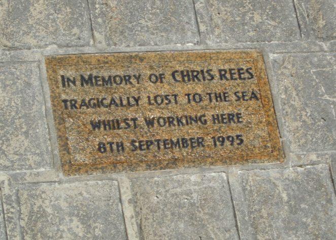 Plaque- Chris Rees
