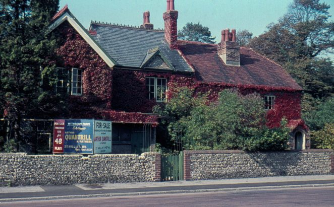 Another view of Withdean Farmhouse; the site was eventually developed | ©John Catchpole