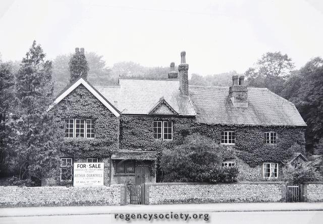 Derelict farmhouse buildings.  | ©The Regency Society