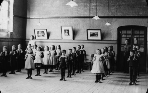 Pelham Street Infant School Drill 1909