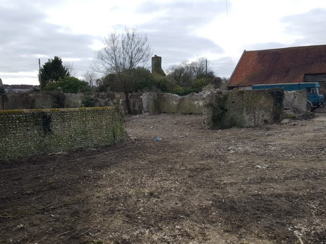 Remains of Benfield Farm Feb 2021 | Peter Groves
