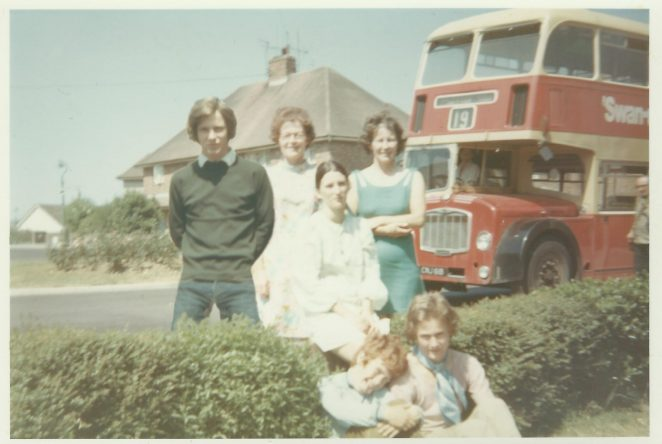On the Buses c. 1969   From the Collection of Peter Groves