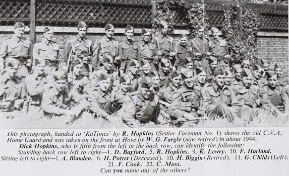 CVA Home Guard c. 1944 | Taken from my copy of 1969 K&T magazine