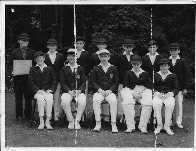 Prestonville cricket team from around 1968