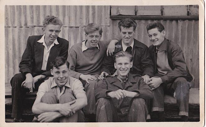 Thos Harrington Apprentices  - Summer 1952