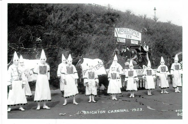 Brighton Carnival 1923 | From the private collection of Jennifer Drury