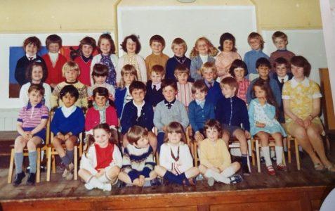 Classroom photo - Downs School c1972