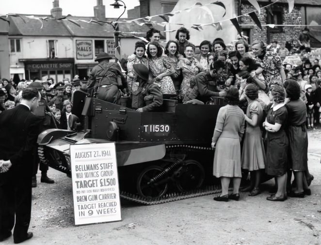 War Savings Group 1941   ©Royal Pavilion and Museums Brighton and Hove