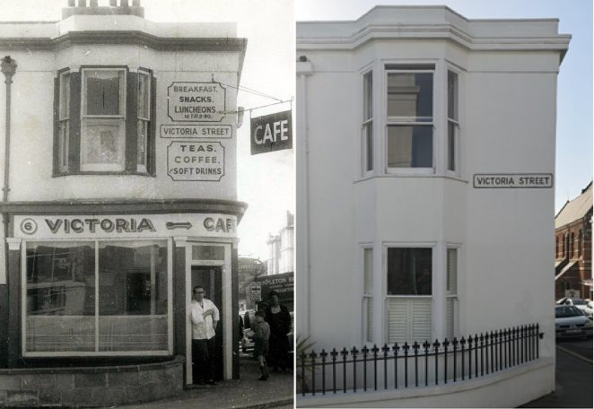 Then and now 1965 and 2019 6 Victoria Road Brighton