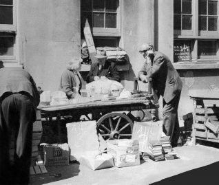 Street market: location unknown | From the private collection of Stefan Bremner-Morris