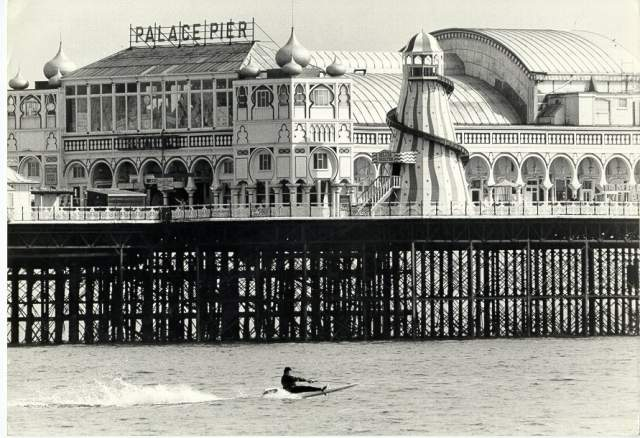 The Palace Pier: undated photograph | Royal Pavilion and Museums Brighton and Hove