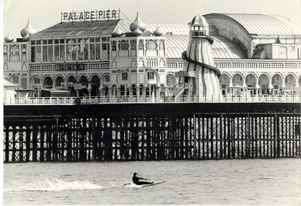 Palace Pier undated photograph | Royal Pavilion and Museums Brighton and Hove