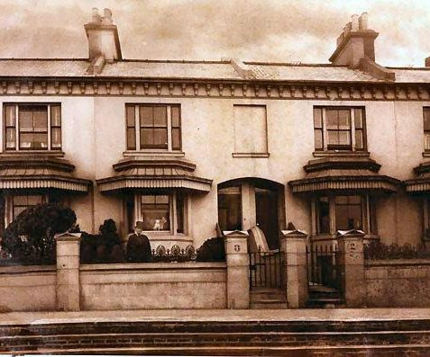 Clifton Terrace - where Elizabeth lived with her sister Susan Marner c1893   Brighton and Hove Museum