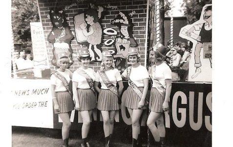 The Evening Argus girls c1960s