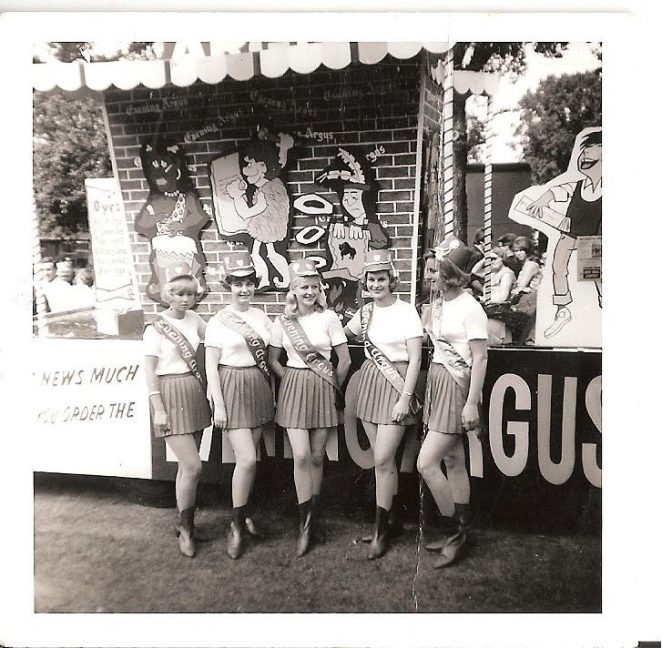 'The Evening Argus Girls' in Preston Park: Brighton Carnival 1960s | From the private collection of Peter Grossmith