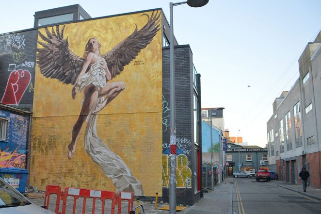 Angel of Brighton | ©Photo by Tony Mould