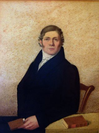 William Vine. Painted by his son-in-law, Henry Bodle, c.1830. | Reproduced with kind permission of Stuart and Vine Molony