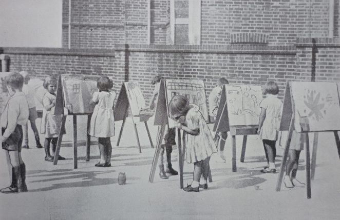 Infant artists | From the Education Week booklet owned by Peter Groves