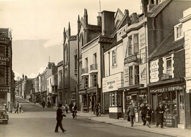 Church Street: undated but looks either late 1940s/early 1950s | From a private collection