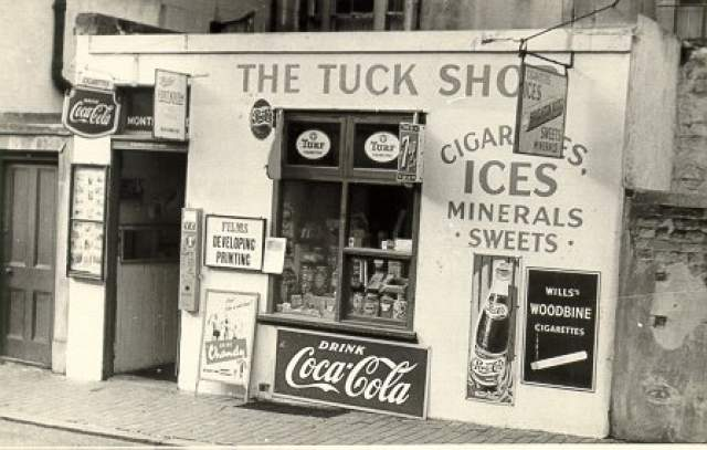 The Tuck Shop: undated photograph | Image reproduced with kind permission of The Royal Pavilion and Museums Brighton and Hove