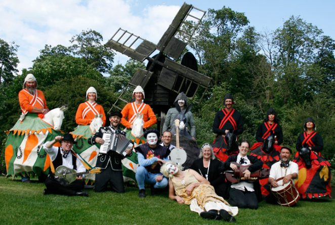 Brighton Mummers, performing Horseplay at The Weald and Downland Museum, June 2012 | Photo by Tete Pieroni