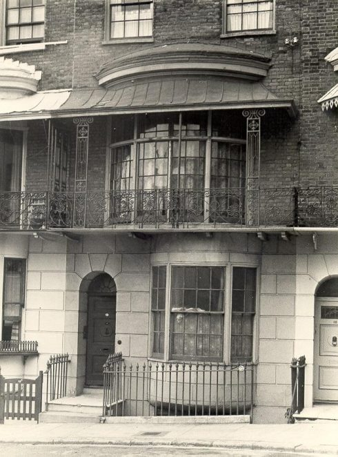 11 Russell Square, c. 1940s | Image reproduced with kind permission from Brighton and Hove in Pictures by Brighton and Hove City Council