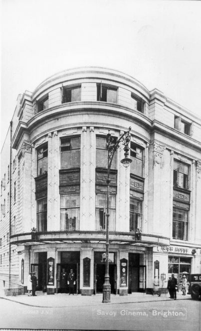 The Savoy, now the Cannon cinema