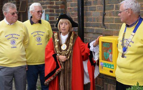 Life saving equipment in Rottingdean